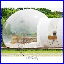 110V Inflatable Eco Home Tent House Luxury Dome Camping Air Bubble Party Outdoor
