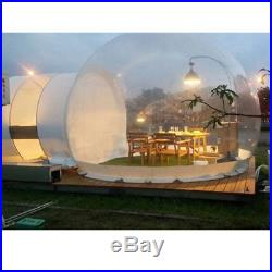 110V Inflatable Eco Home Tent House Luxury Dome Camping Cabin Lodge Air Bubble