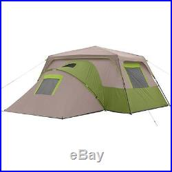 11 Person 3 Room Instant Unique Cabin Tent Outdoor Family Camping Living New