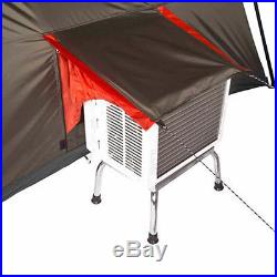 12 Person 3 Room Instant Cabin Tent Easy Setup Family Camping Outdoor Living Red