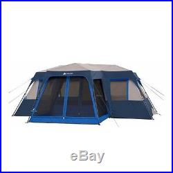 12 Person Family Instant Tent Hiking Camping Outdoor Cabin WITH 2 Queen Air BEDS