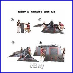 trek 3 room family tent instructions