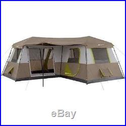 12 Person Tent Outdoor Camping Cabin Instant Family 3 Room Sleep Fishing Hiking
