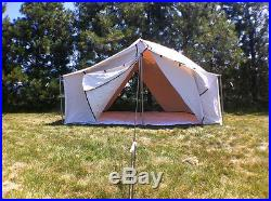 12 x 12 CANVAS SPIKE TENT