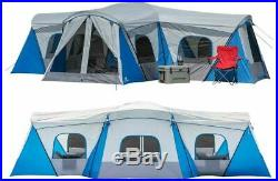 16 Person Family Outdoor Cabin House Tent Spacious 3 Season Camping Home with Bag