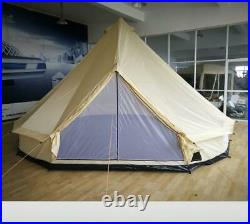 17' Family Tent 10 Persons Waterproof Teepee Bell Tents Hunting Camp