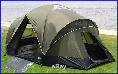 18X13X78 4 ROOM CAMPING DOME TENT