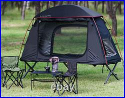 1 Person 3 Season Lightweight Black Mountain Cot Tent (2 in 1)