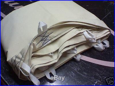20' CHEYENNE STYLE tipi/teepee, liner, door, lacepins, bag
