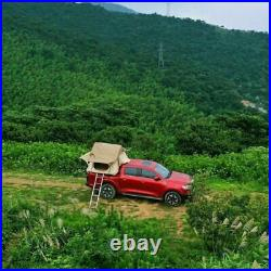 2-3 Person Roof Top Tent Jeep Truck & Car Camping with Ladder Hiking Sleep Outdoor