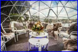 2 PC Garden Igloo Bubble Tent Geodesic Dome Greenhouse + Free Mosquito Net Cover