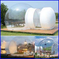 3M Eco Zelt DIY Aufblasbar Familien Zelt Mobiles Haus Transparent Groß Hauszelt