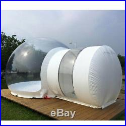 3M Inflatable Transparent Eco Home Bubble Tent Stargaze Igloo Camping Dome Camp