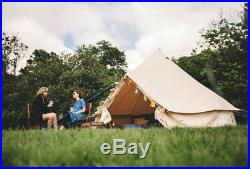 3 Metre Bell Tent Zipped In Ground Sheet by Bell Tent Boutique Garden Camp