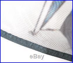 3 Weg Popup Zelt 3-4 Mann Sekundenzelt Wurfzelt Iglu blau