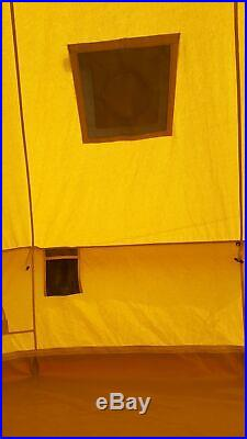 3m Cotton Canvas Bell Tent With Fire Retardant Stove Hole By Bell Tent Village