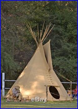 Ø 3m Tipi Indianerzelt Wigwam Indianer Zelt Jurte tepee