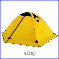 4 Season Camping Tent Backpacking Double Layer Tent for 2 Person Waterproof