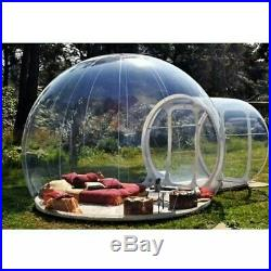 5M 220V Inflatable Transparent Eco Home Bubble Tent Stargaze Igloo Camping Dome