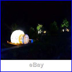 5M Inflatable Bubble Tent DIY Eco Friendly Home Luxury Dome Camping Air Blower