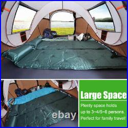 5-8 Persons Waterproof Tent Automatic Instant Open Shade Camping Family Hiking