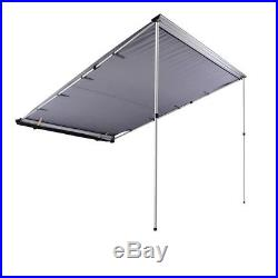 6.6x8.2ft Car Side Awning Rooftop Tent Sun Shade SUV Outdoor Camping Travel Grey