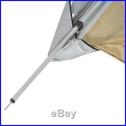 6.6x8.2ft Car Tent Awning SUV Vehicle Fold Out Awning Water/UV-Resistant