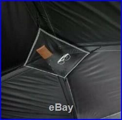 6 Person Blackout Cabin Tent 10' x 9' Dark Rest Camping Keeps Cool Outdoors New