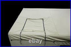 6 Person Wall Tent 12x10 Ozark Trail North Fork Outfitter Stove Jack PVC Floor