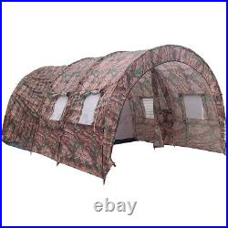 8-10 Person Camping Tent Double Layer Waterproof Outdoor Hiking Family Shelter
