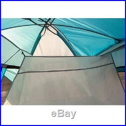 8 Person 3 Seasons Family Camping Tent, 2 D-Shape Door, 2 Rooms, with Carry Bag