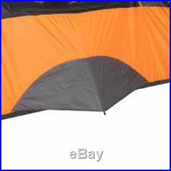 8 Person Cabin Tent 2 Room 60 sec Setup Family Camping Waterproof Outdoor Hiking