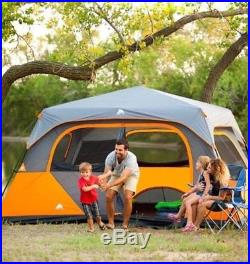 8 Person Instant Cabin Tent Family Camping Waterproof Outdoor Hiking Airbed New