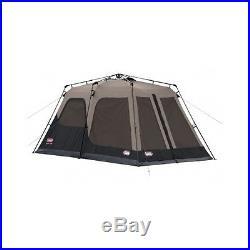 8 Person Instant Tent Coleman Canvas 2 Room Tent Waterproof WeatherTec Family
