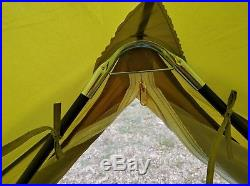 8 Person Tent 4M Bell Tent Zipped-in-Groundsheet Family Camping tent 4M from UK