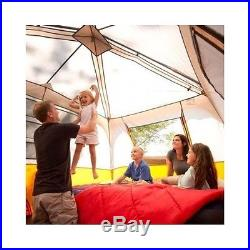 8 Person Tent Instant 2 Room Family Cabin Camping Gear Equipment Outdoor Easy Up