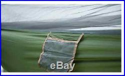 Army Military Survival Tent Hammock Parachute Camping Hiking Light Trekking Swag