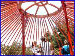 Authentic Mongolian Yurt Ger Tent Large Size 20 Ft withCover Meditation/Yoga