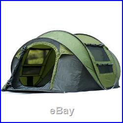 Auto Pop Up Tent Waterproof Portable Outdoor Camping Hiking 5-8 Person With2Doors
