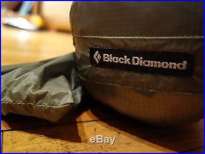 BLACK DIAMOND FIRST LIGHT FIRSTLIGHT 2 PERSON 4 SEASON TENT CAMPING BACKPACKING