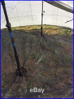 BPWD Bear Paw Wilderness Designs Cuben Fiber Dyneema 2 Person Ultralight Tent