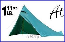 Backpacking Tent Mark V 3-5 Man Ultra light weight 6' tall 1 Lb 11.6 Appy Trails
