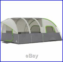 Best Camping Tent 8 Person Modified Dome Tunnel Season Cabin Beach Festival Big