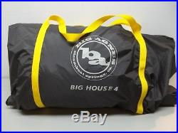 Big Agnes Big House 4 3-Season Camping Tent
