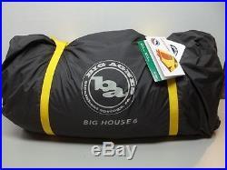 Big Agnes Big House 6 (2014) 3-Season Camping Tent