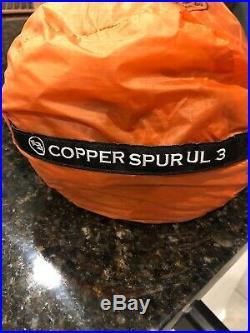 Big Agnes COPPER SPUR HV UL3 Ultra Light Tent + With Footprint 4.05 lbs