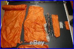 Big Agnes Copper Hotel HV UL3 Camping Tent, 3 Person, Orange
