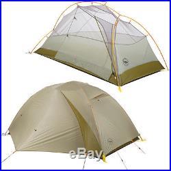 Big Agnes Fishhook UL Tent 2-Person 3-Season Light Grey/Moss One Size