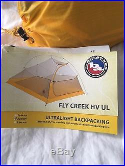 Big Agnes Fly Creek HV UL2 Tent New