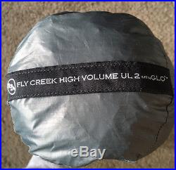 Big Agnes Fly Creek High Volume UL2 Mtn-Glo + ul2 foot print! NEW